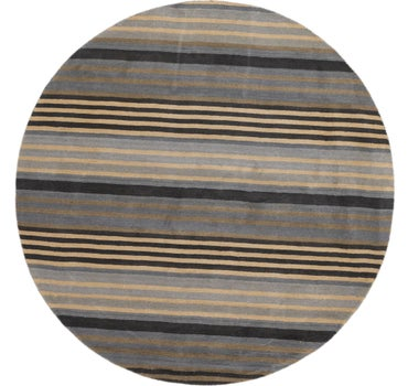 8' x 8' Reproduction Gabbeh Round Rug main image