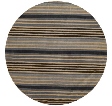 8' x 8' Reproduction Gabbeh Round Rug main image