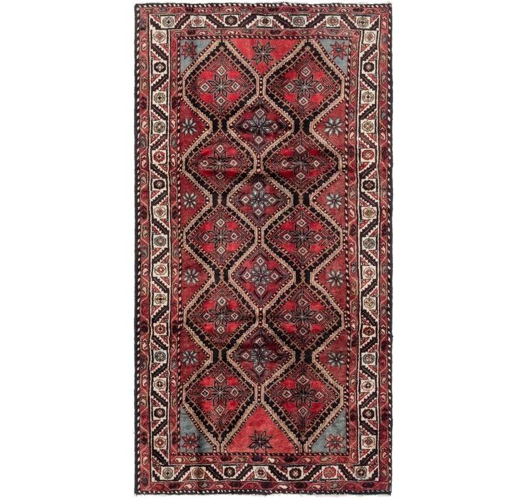 157cm x 310cm Chenar Persian Runner Rug