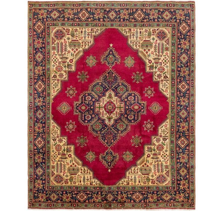 305cm x 385cm Tabriz Persian Rug
