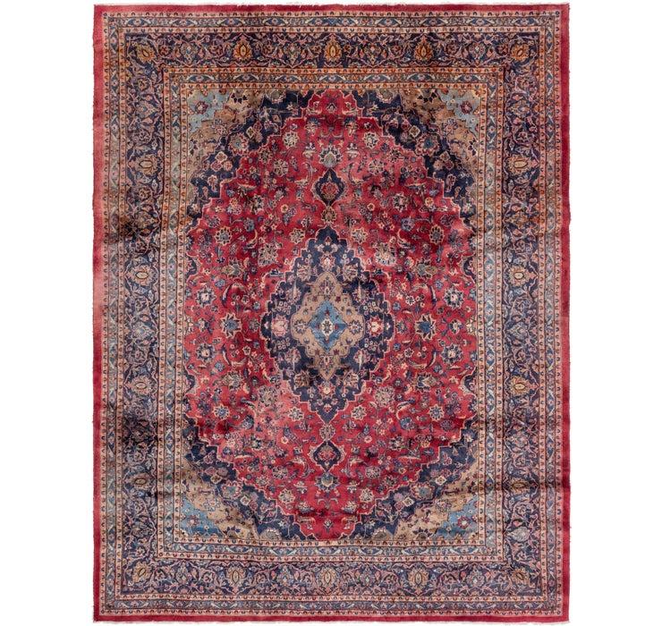 292cm x 385cm Mashad Persian Rug