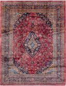 9' 7 x 12' 7 Mashad Persian Rug thumbnail