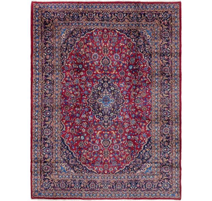 290cm x 390cm Mashad Persian Rug