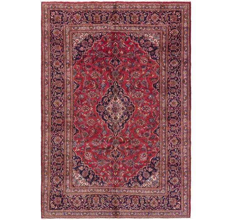 6' 5 x 9' 4 Kashan Persian Rug