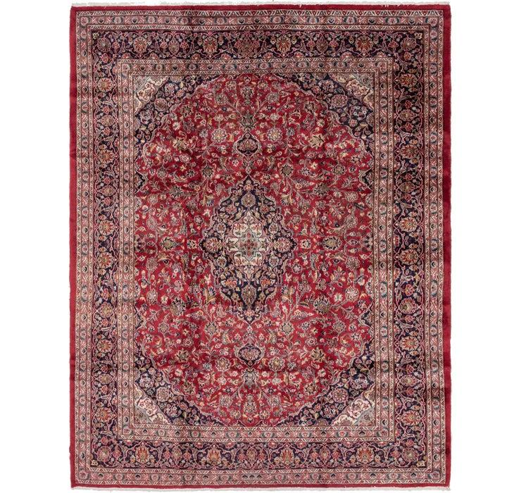 297cm x 380cm Mashad Persian Rug