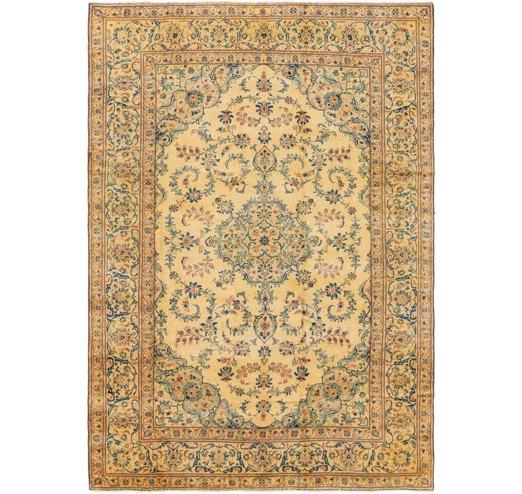 8' 4 x 12' Kashan Persian Rug