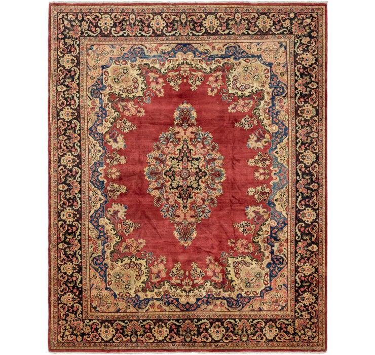 330cm x 415cm Meshkabad Persian Rug
