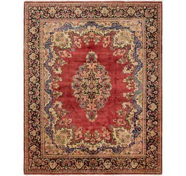 10' 10 x 13' 7 Meshkabad Persian Rug