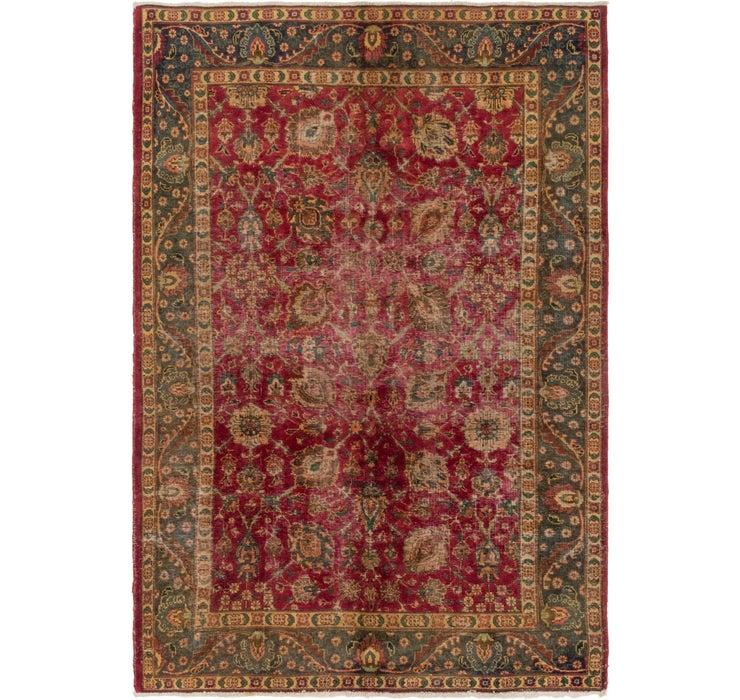195cm x 290cm Tabriz Persian Rug