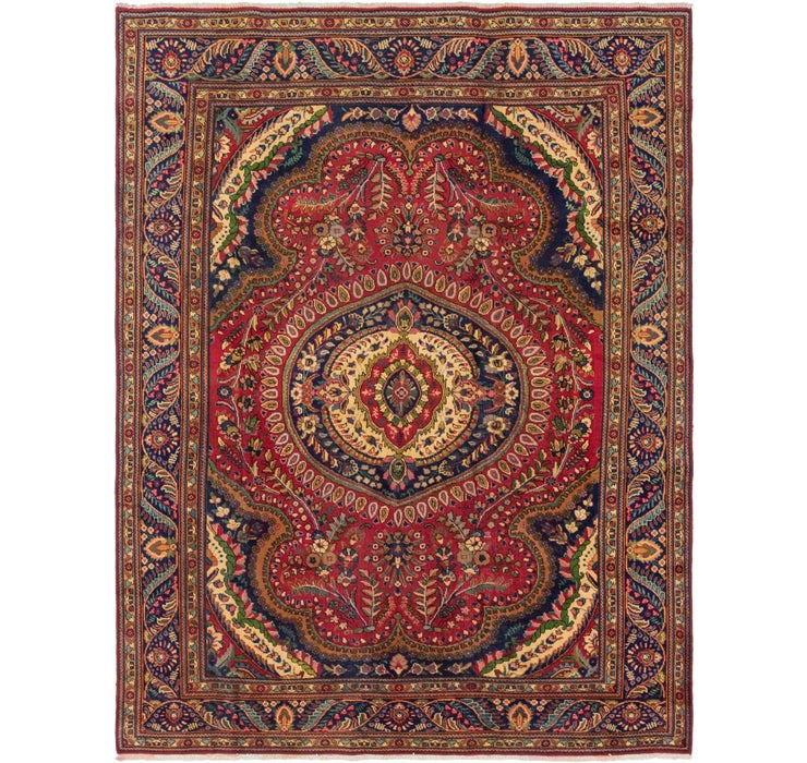 8' 6 x 11' 2 Tabriz Persian Rug