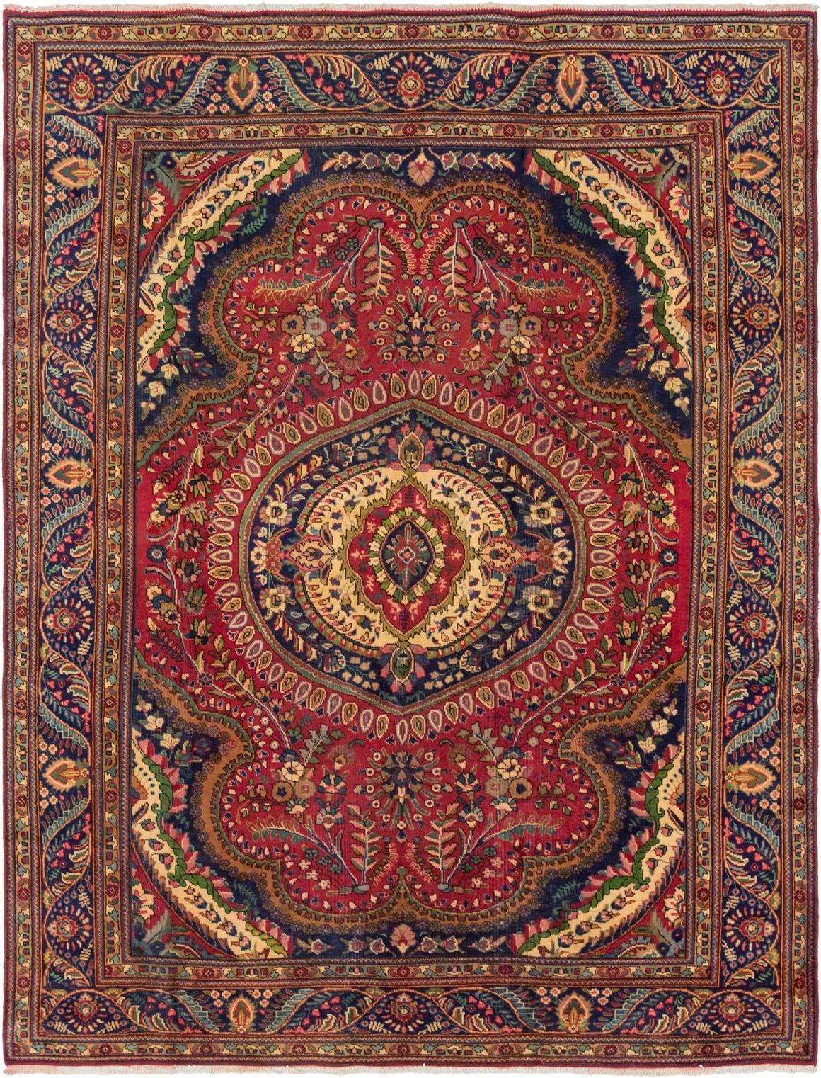 8' 6 x 11' 2 Tabriz Persian Rug main image