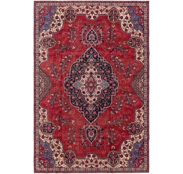 7' 10 x 11' 10 Tabriz Persian Rug