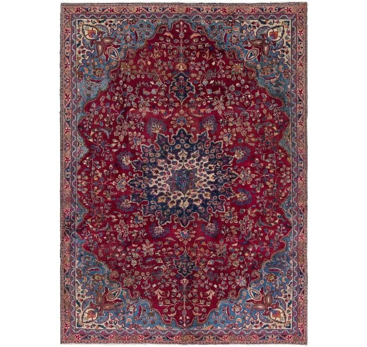 7' 3 x 10' Mashad Persian Rug