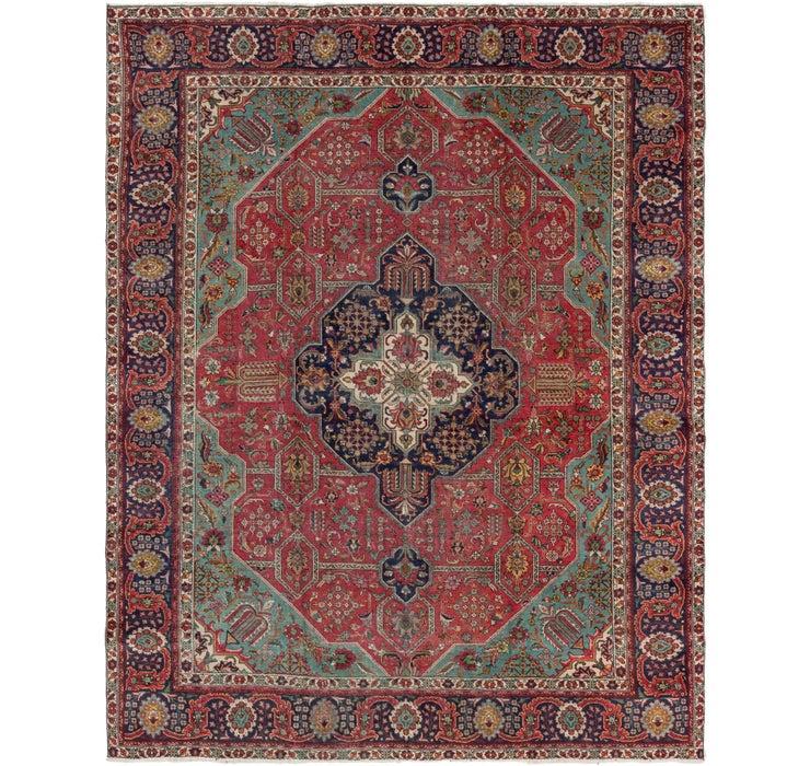295cm x 380cm Tabriz Persian Rug