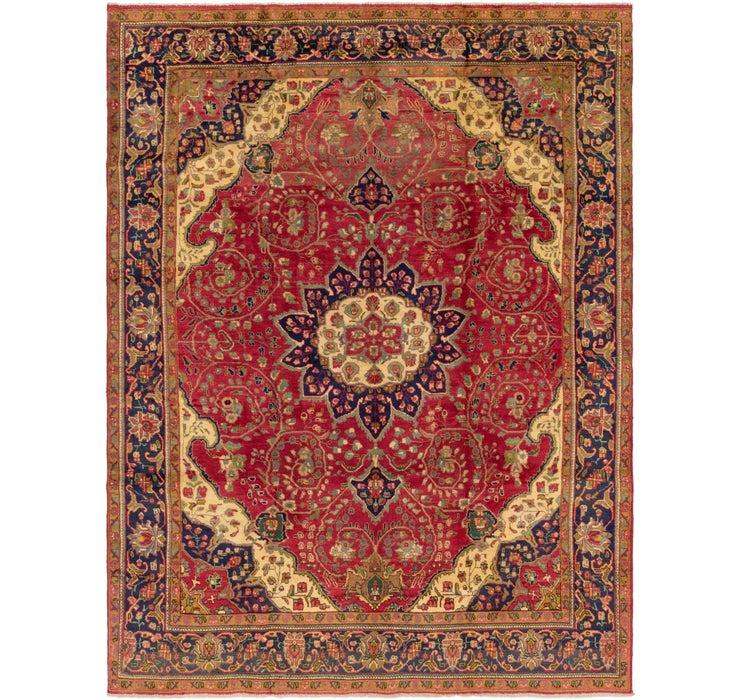 292cm x 390cm Tabriz Persian Rug