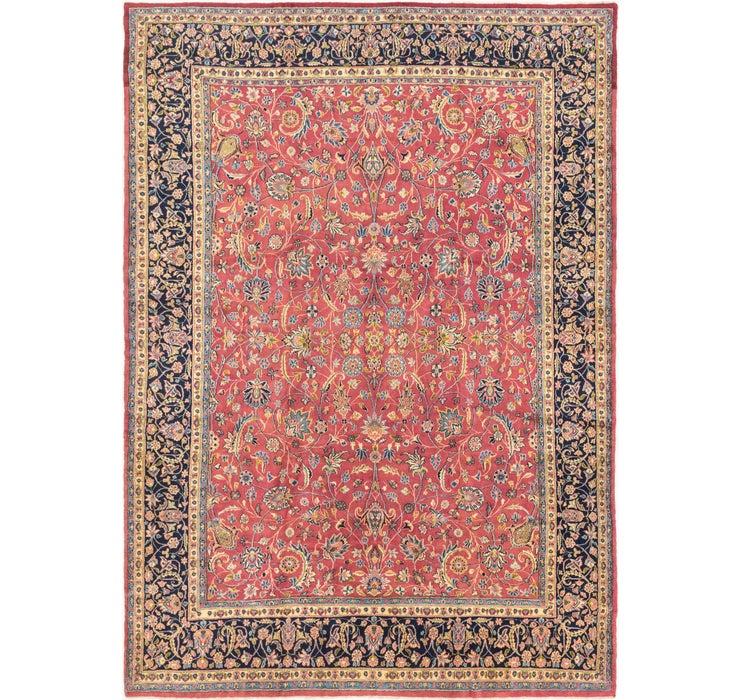 290cm x 427cm Mashad Persian Rug