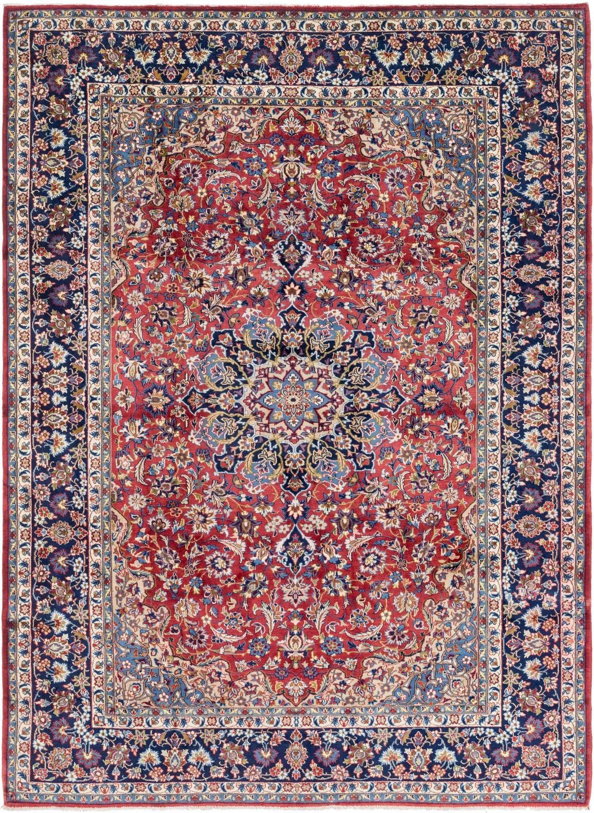 9' 8 x 13' 3 Isfahan Persian Rug main image