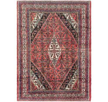 Image of 8' 6 x 11' 4 Hamedan Persian Rug
