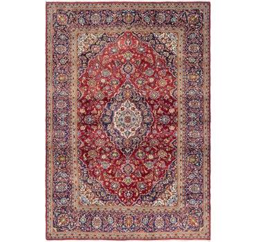 8' 2 x 11' 9 Kashan Persian Rug main image