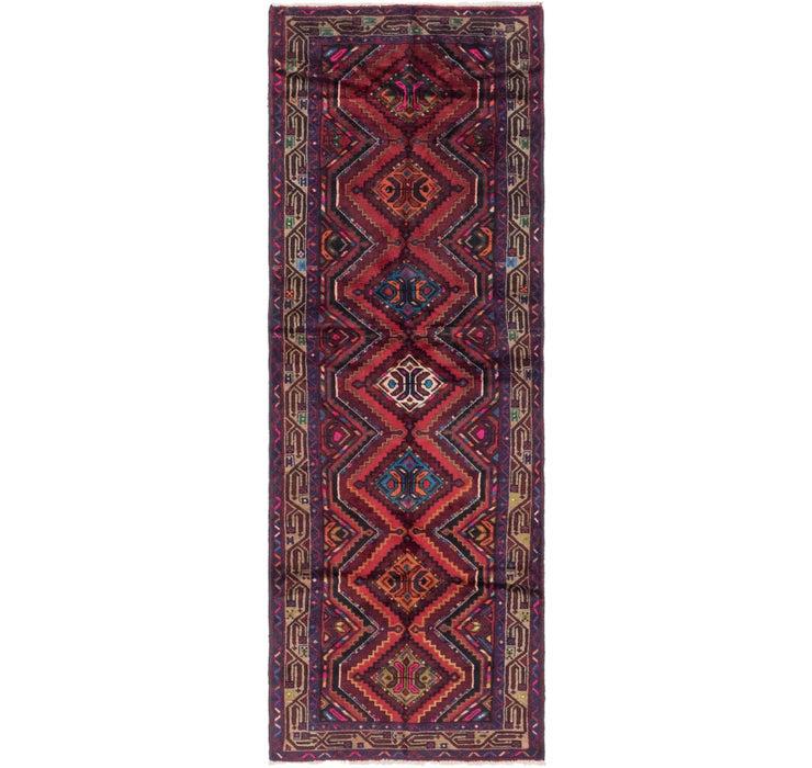 105cm x 297cm Chenar Persian Runner Rug