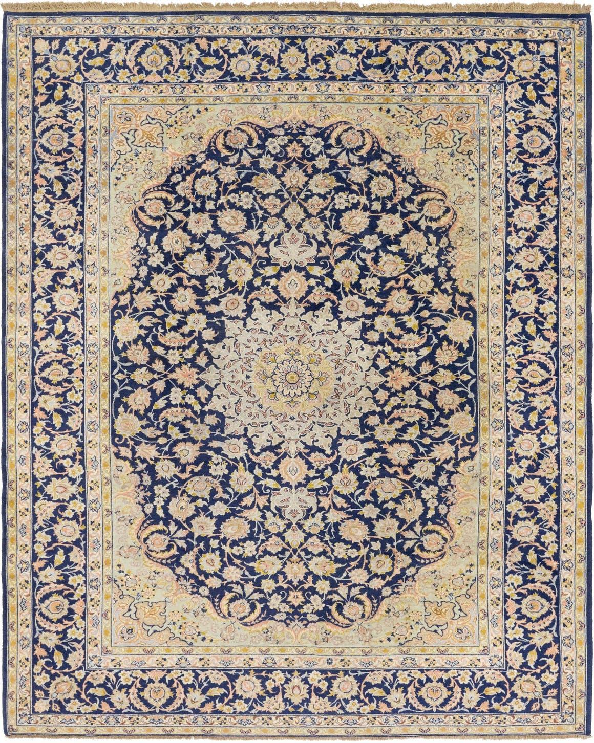 10' 4 x 12' 7 Isfahan Persian Rug main image