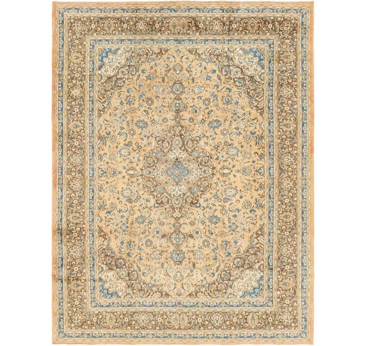 Image of 8' 9 x 12' 8 Mashad Persian Rug