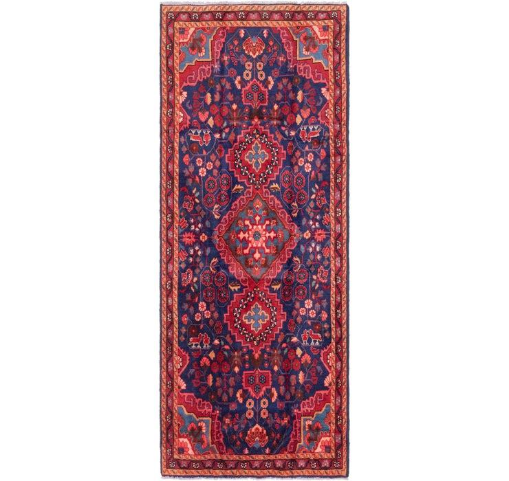 115cm x 297cm Mahal Persian Runner Rug