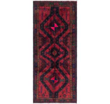 Image of 4' x 9' 10 Sirjan Persian Runner Rug