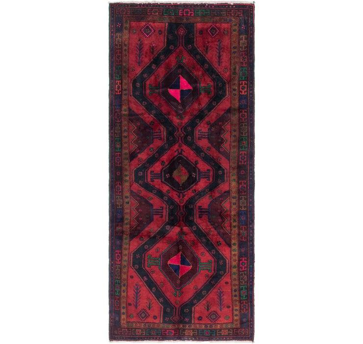 Image of 4' x 9' 10 Sirjan Persian Runner Rug