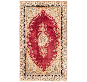 Image of 3' 10 x 6' 6 Kerman Persian Rug
