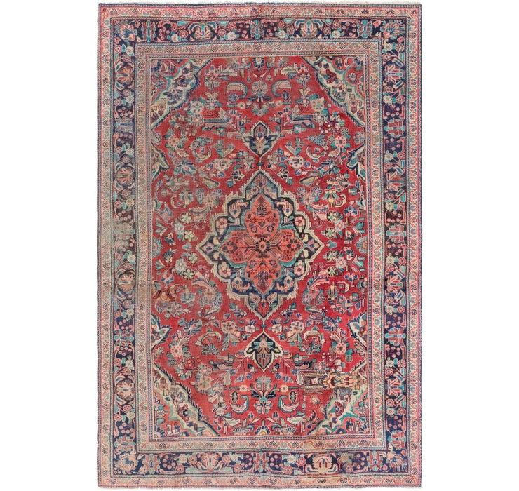 6' 9 x 10' Mahal Persian Rug