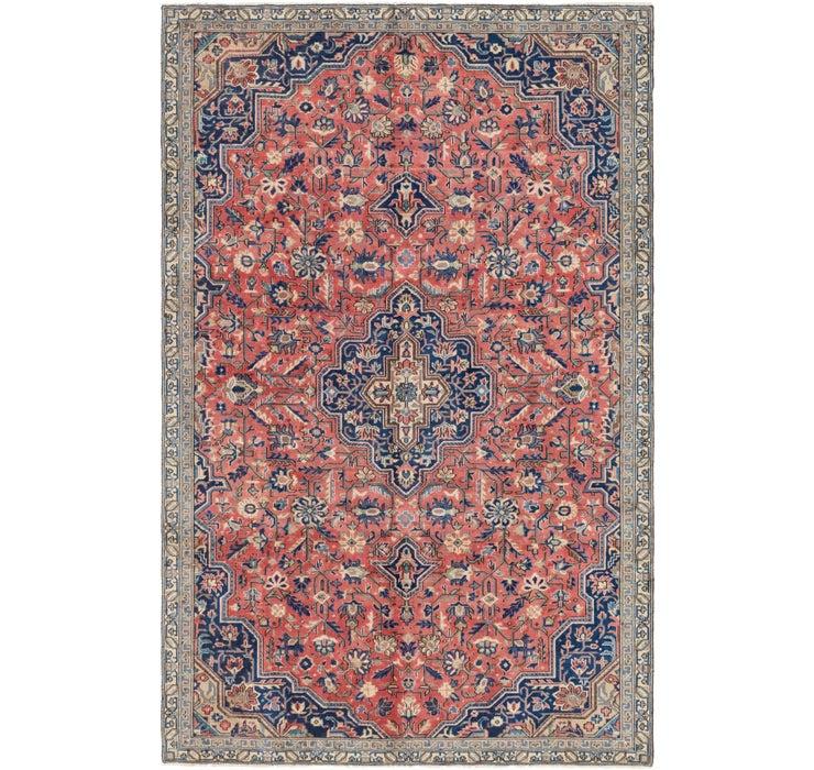 6' 8 x 10' 4 Tabriz Persian Rug