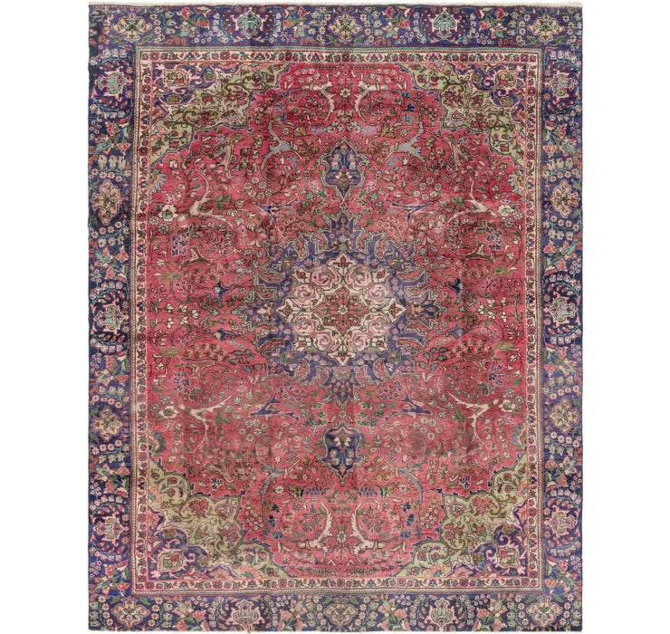 8' 2 x 10' 5 Tabriz Persian Rug