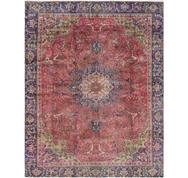 8' 2 x 10' 5 Tabriz Persian Rug main image