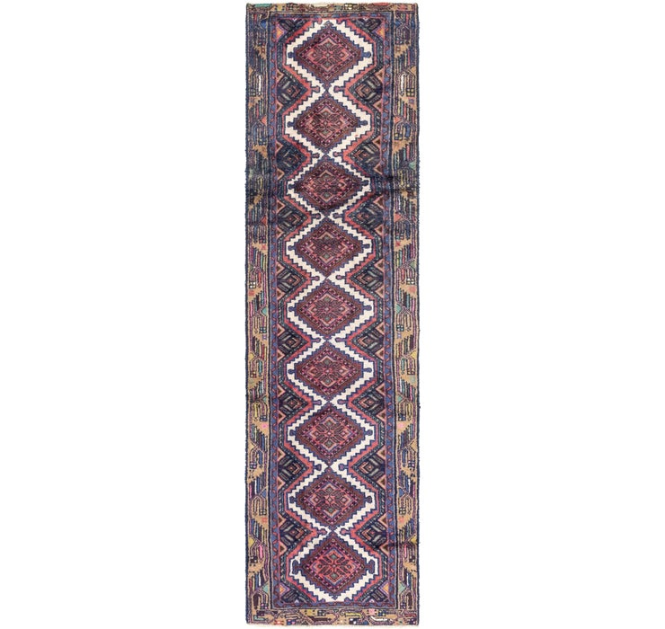 70cm x 285cm Chenar Persian Runner Rug