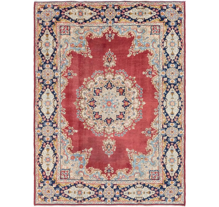 9' 2 x 12' Kerman Persian Rug