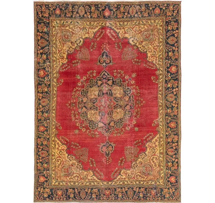 8' 4 x 12' Tabriz Persian Rug
