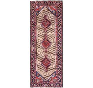 3' 4 x 9' 7 Koliaei Persian Runner Rug main image