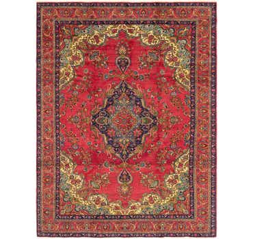 Image of  9' 8 x 13' Tabriz Persian Rug