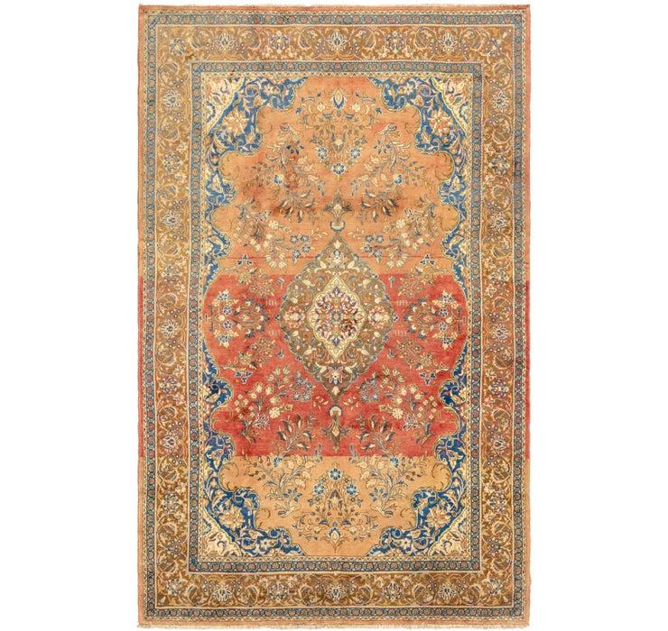 7' x 10' 10 Golpayegan Persian Rug