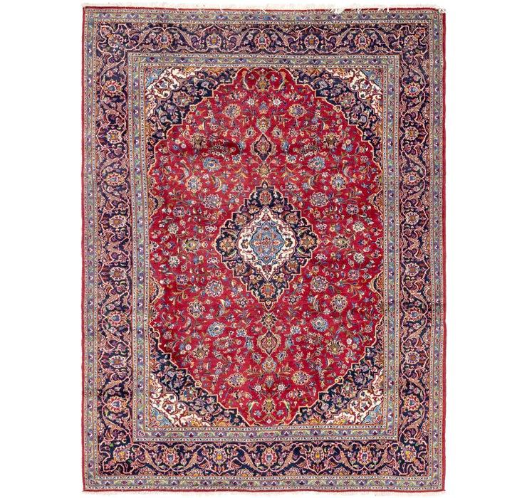 265cm x 353cm Kashan Persian Rug