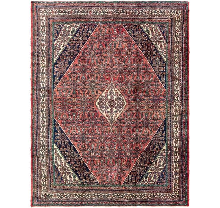 318cm x 415cm Hamedan Persian Rug