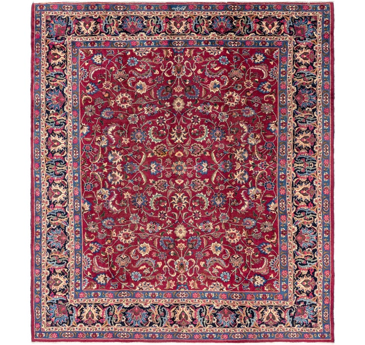 300cm x 348cm Mashad Persian Rug