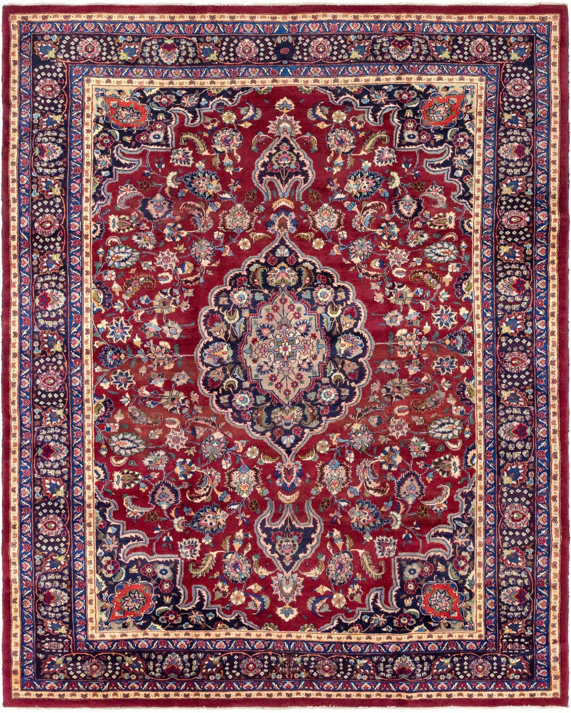 10' x 12' 3 Mashad Persian Rug main image