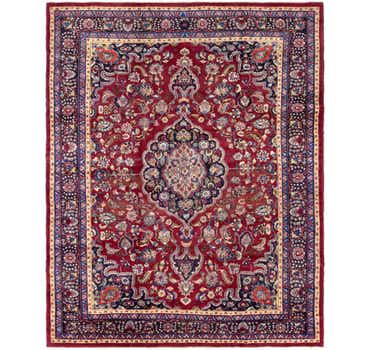 Image of 10' x 12' 3 Mashad Persian Rug