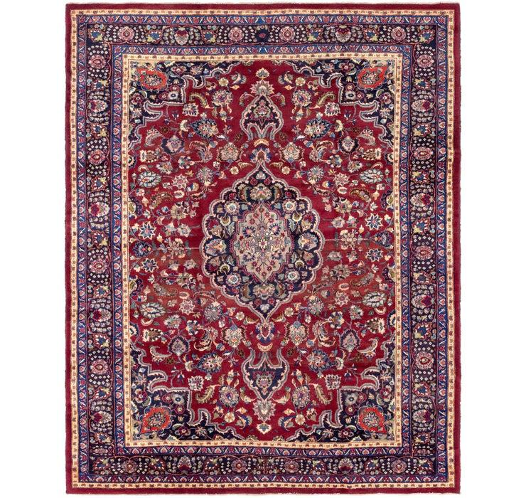 10' x 12' 3 Mashad Persian Rug