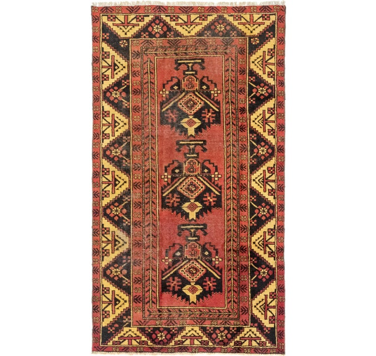 3' 9 x 6' 10 Ferdos Persian Rug