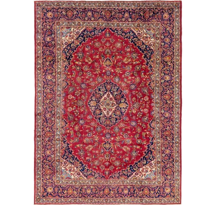 270cm x 373cm Kashan Persian Rug