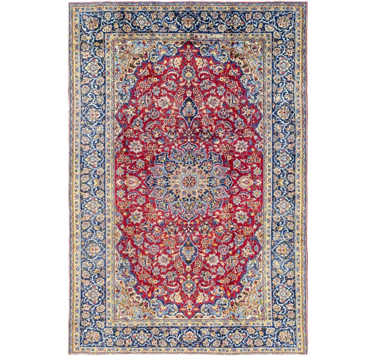 235cm x 353cm Isfahan Persian Rug