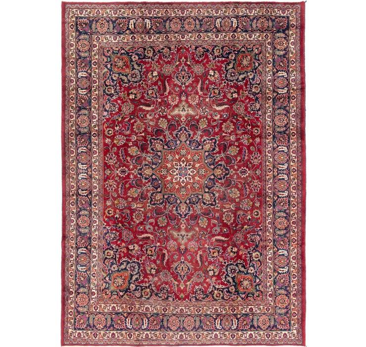 250cm x 355cm Mashad Persian Rug